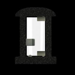 Lantaarn Black Graniet