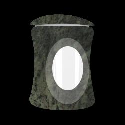 Lantaarn Emerald (ronding)