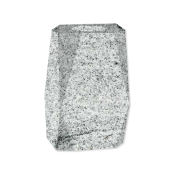 Blokvaas White Graniet